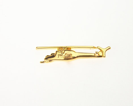 Mi24 Hind Gold Plated Tie / Lapel Pin