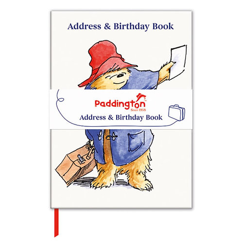 A Note from Paddington Address & Birthday Book