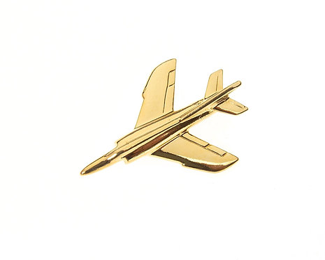 Etendard Gold Plated Tie / Lapel Pin