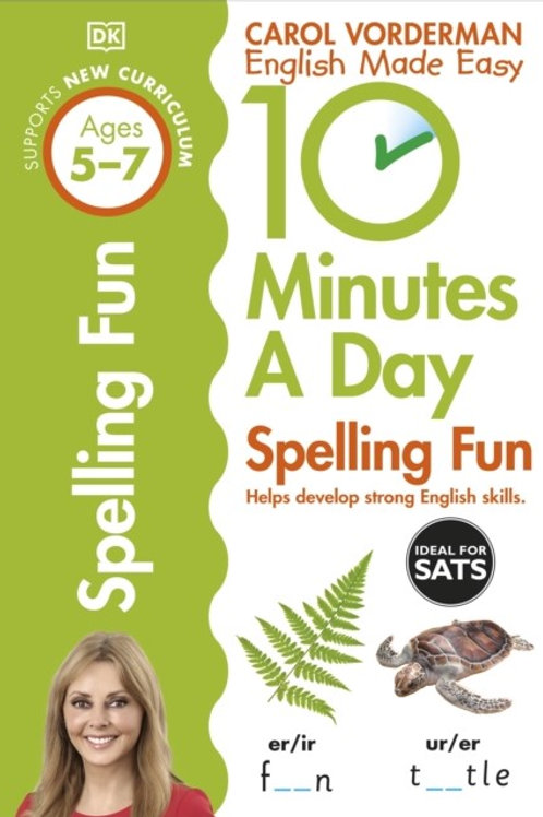 10 Minutes a Day Spelling Fun (with Timer) Ages 5-7 Key Stage 1