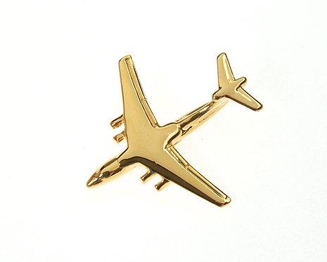 Ilyushin 76-IL76 Gold Plated Tie / Lapel Pin
