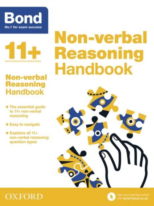 Bond 11+: Bond 11+ Non Verbal Reasoning Handbook