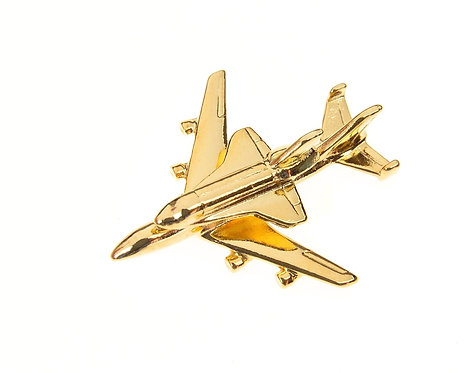 Boeing 747 Space Shuttle Gold Plated Tie / Lapel Pin