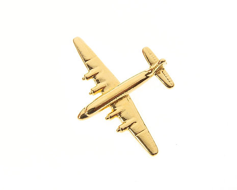 DC4 Gold Plated Tie / Lapel Pin