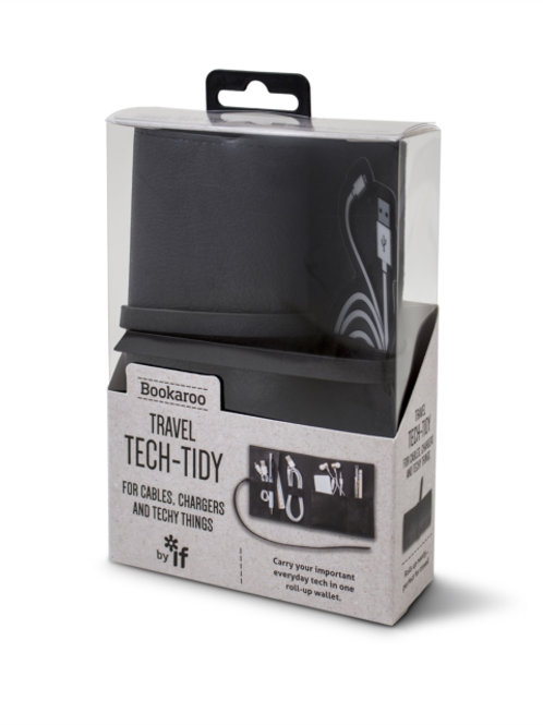 Bookaroo Travel Tech-Tidy - Black