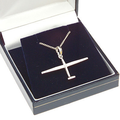 Glider Pendant Solid Sterling Silver