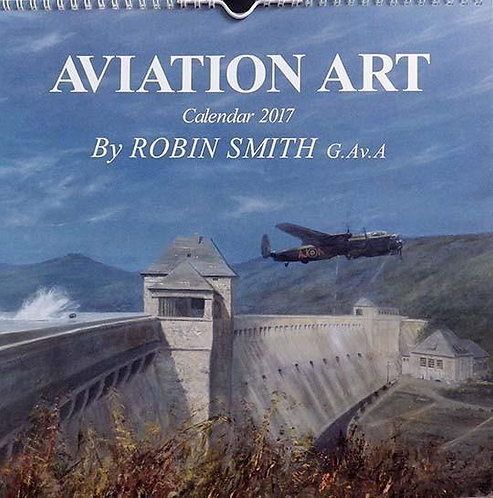 Aviation Art Calendar 2017, Robin Smith