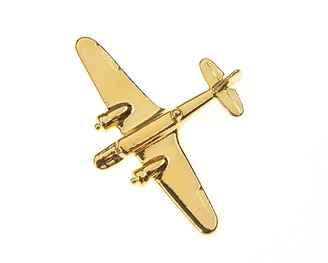 Blenheim Gold Plated Tie / Lapel Pin