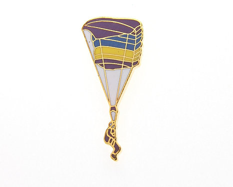 RAM Air Parachute Side Enamel / Gold Plated Tie / Lapel Pin