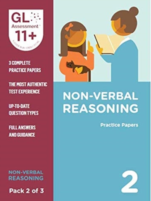 11+ Practice Papers Non-Verbal Reasoning Pack 2 (Multiple Choice)