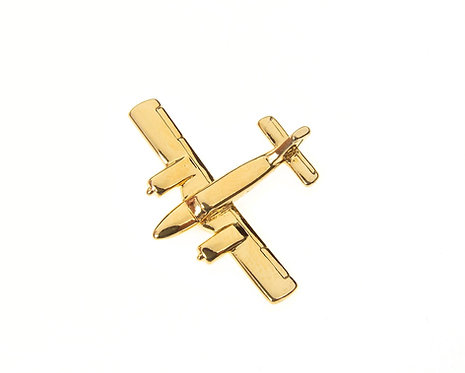 Piper Seneca Gold Plated Tie / Lapel Pin