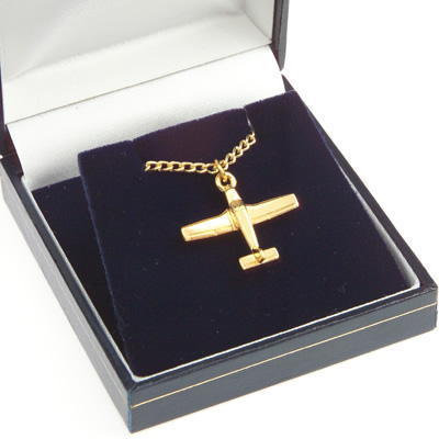 Piper Cherokee Pendant Gold Plated