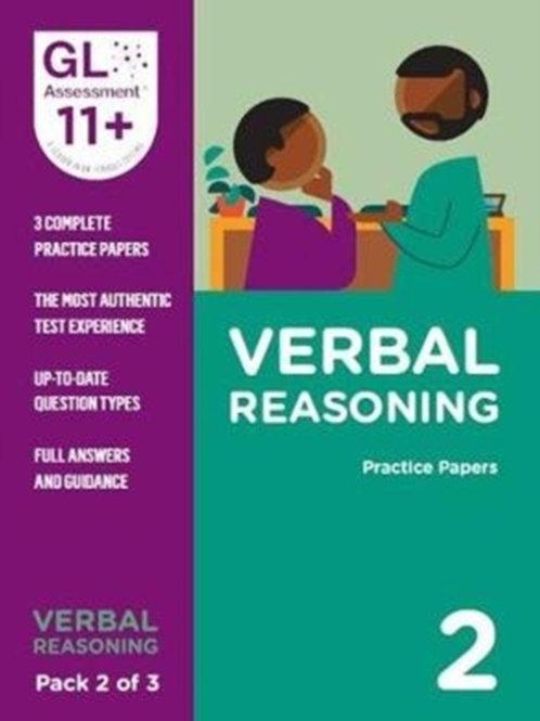 11+ Practice Papers Verbal Reasoning Pack 2 (Multiple Choice)