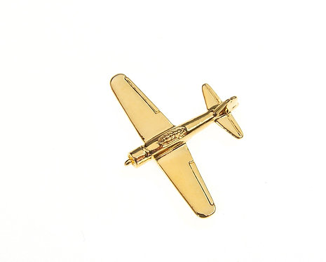 Zero Gold Plated Tie / Lapel Pin