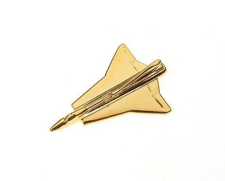 Draken Gold Plated Tie / Lapel Pin