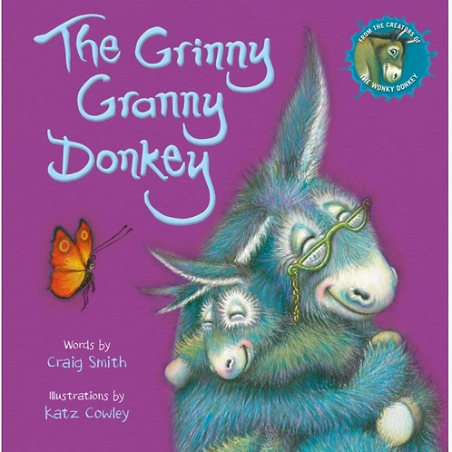 The Grinny Granny Donkey Book (Paperback)