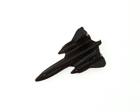 SR71 Blackbird Enamel Tie / Lapel Pin