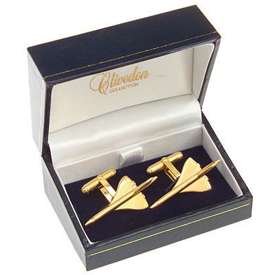 Concorde Cufflinks Gold Plated