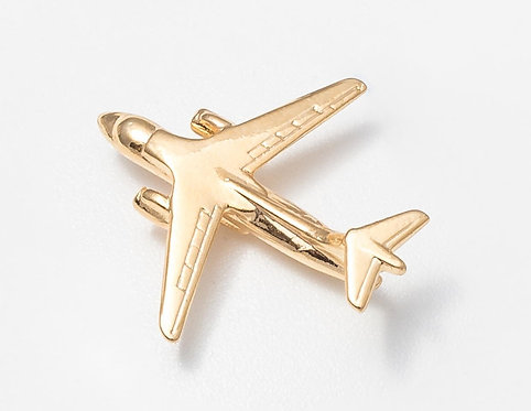 Antonov An148 Gold Plated Tie / Lapel Pin
