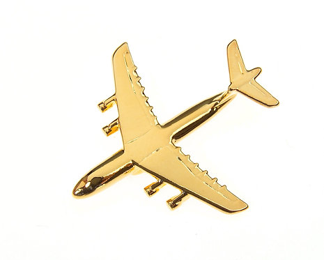 C5 Galaxy Gold Plated Tie / Lapel Pin