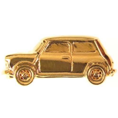 Mini Gold Plated Tie / Lapel Pin
