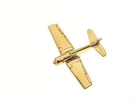 F8F Bearcat Gold Plated Tie / Lapel Pin