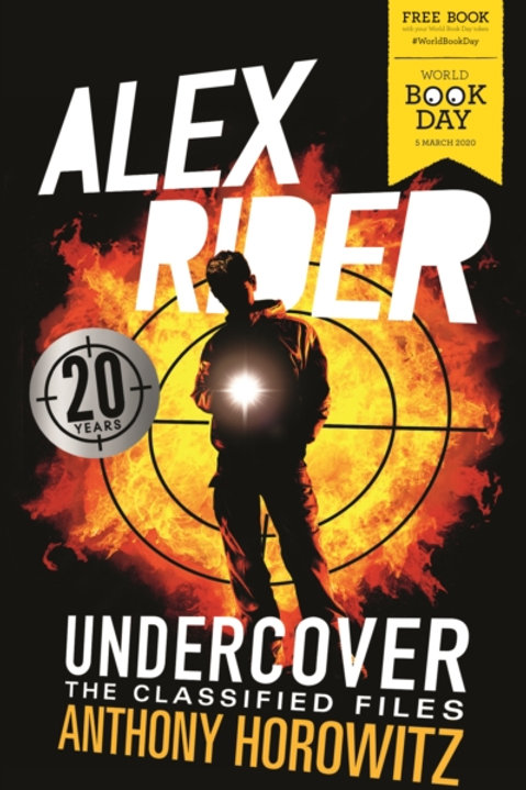 ALEX RIDER UNDERCOVER CLASSIFIED X50 PK