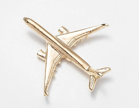 Airbus A350 Gold Plated Tie / Lapel Pin