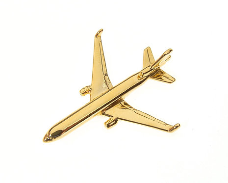 MD11 Gold Plated Tie / Lapel Pin