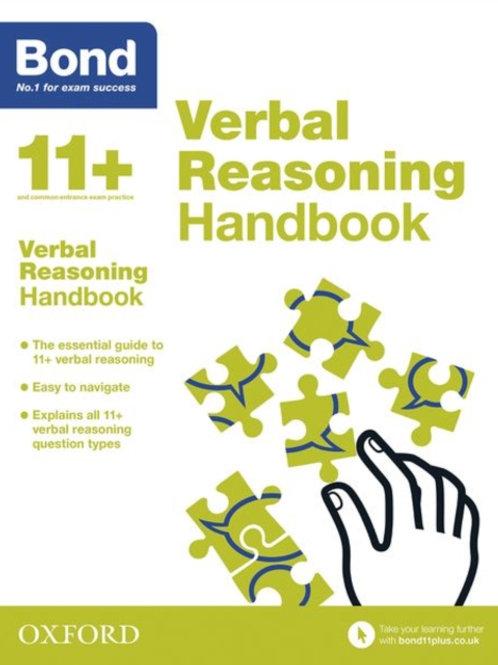 Bond 11+: Bond 11+ Verbal Reasoning Handbook