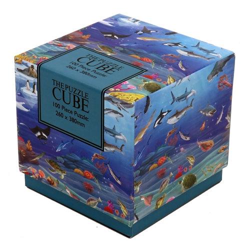 Sealife Puzzle Cube 100PC
