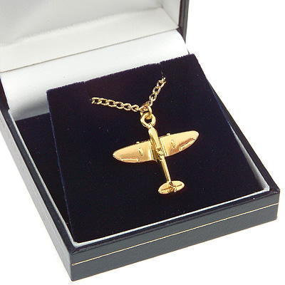 Spifire Pendant Gold Plated