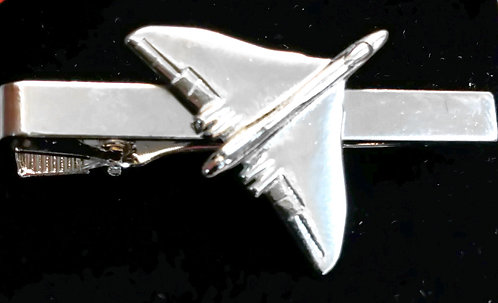 Vulcan Tie Bar / Clip Nickel Plated
