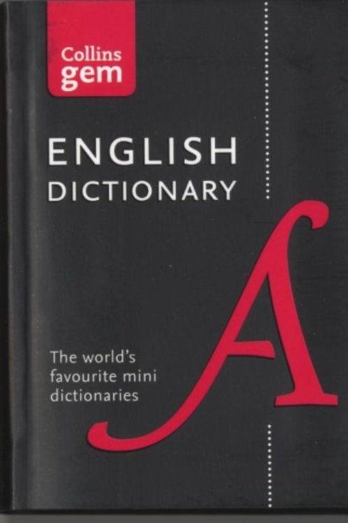 English Gem Dictionary : The World's Favourite Mini Dictionaries