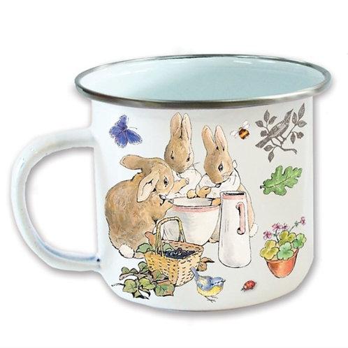 Enamel Mug Flopsy Bunnies