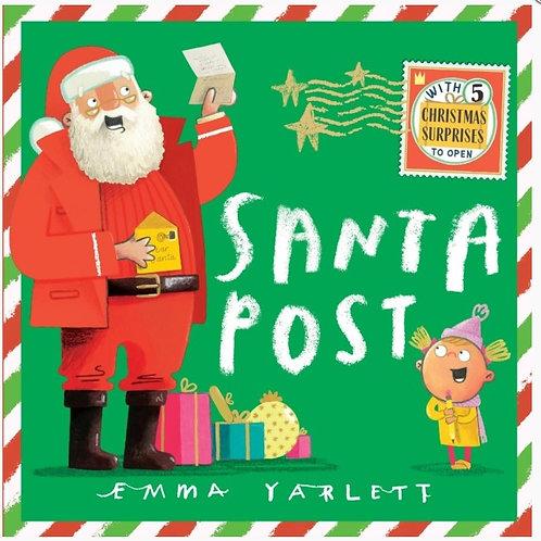 Santa Post by Emma Yarlett   (hardback) Book