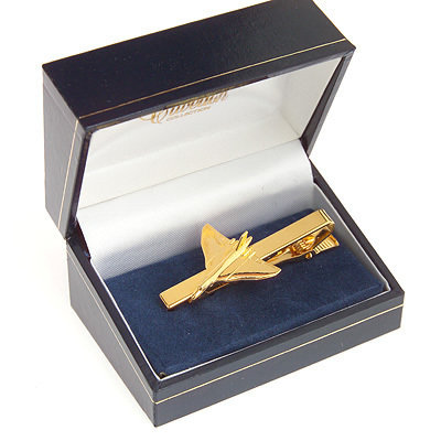 Vulcan Tiebar / Clip Gold Plated