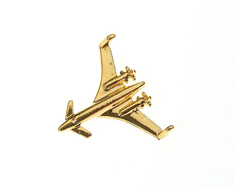 Beechcraft Starship' Gold Plated Tie / Lapel Pin