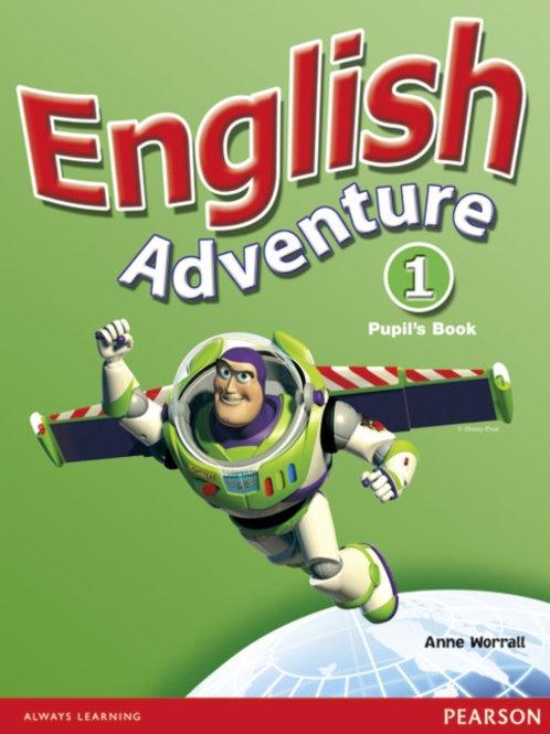 English Adventure Level 1 Pupils Book plus Picture Cards