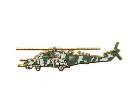 Mi 35 Hind E Enamel / Gold Plated Tie Pin / Lapel Pin