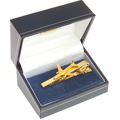 Airbus A300 Tiebar / Clip Gold Plated
