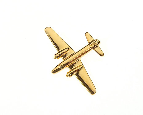Wellington Gold Plated Tie / Lapel Pin