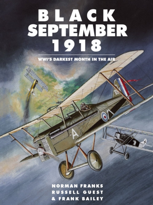 Black September 1918 : WWI's Darkest Month in the Air