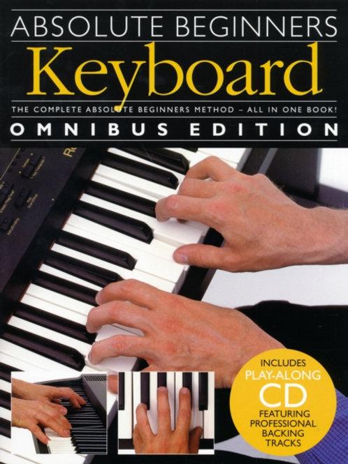 Absolute Beginners : Keyboard - Omnibus Edition
