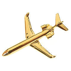 DC9 / MD81Gold Plated Tie / Lapel Pin