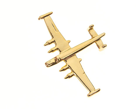 Shackleton MkIII Gold Plated Tie / Lapel Pin