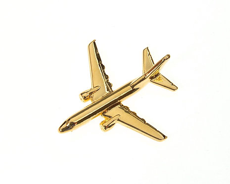 Boeing 737-700 Gold Plated Tie / Lapel Pin