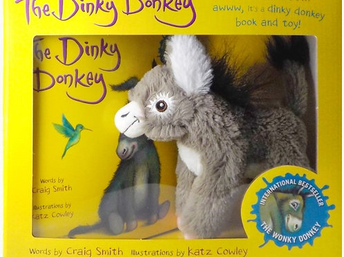 Dinky donkey Book and Toy set