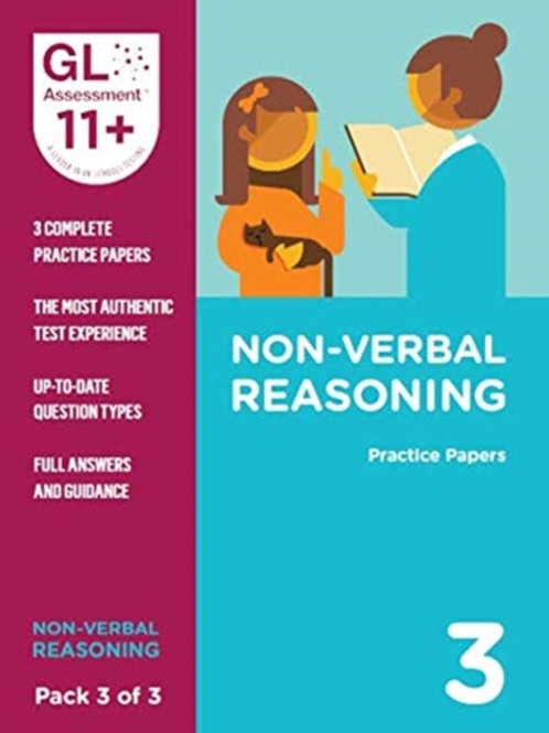 11+ Practice Papers Non-Verbal Reasoning Pack 3 (Multiple Choice)
