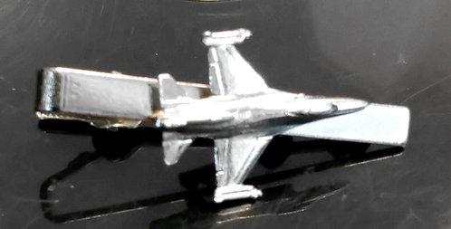 F16 Tie Bar / Clip Nickel Plated